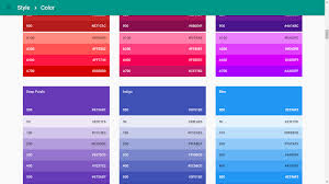 create a material color palette in no time