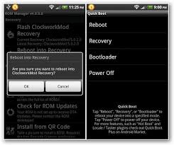 android boot into recovery how to create nandroid backup restore it to your android device