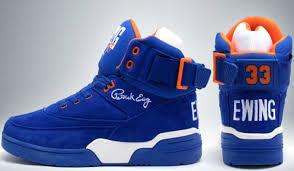 sneaker closet ewing 33 hi blue orange tsl
