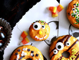 Cake Pops For Halloween Feeding My Addiction Healthy Halloween Matcha Donuts