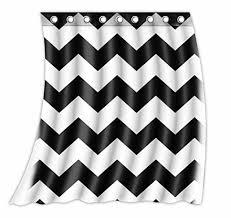 Chevron Pattern Curtains Custom Chevron Pattern Black White Pattern Curtain Polyester