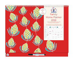 organised mum 2016 family home planner month to view wall calendar