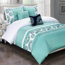 Dahlia 5 Piece Comforter And by Aqua Blue King Duvet Cover Sweetgalas
