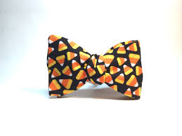 halloween neckties candy corn halloween bow tie grip and word