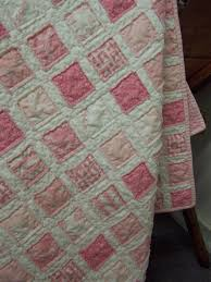 vintage baby quilt ingrid barlow handmade quilting