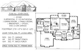 square floor plans for homes 3 bedrooms 1701 2250 square