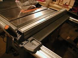 Ridgid Table Saw Extension Furnitude Ridgid R4512 Table Saw Full Review