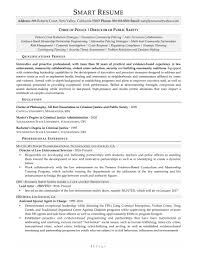Law Enforcement Sample Resume by Samples How Smart Resume Services U0027 Writers Work