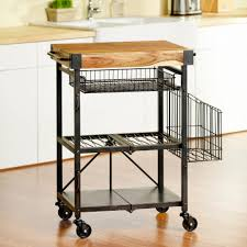 style wondrous oasis folding kitchen cart from the manufacturer
