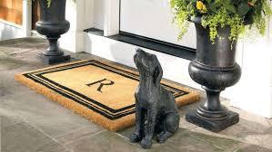 Doormats Target Front Doors Offset Monogram Coco Mat Front Door Mat Personalized
