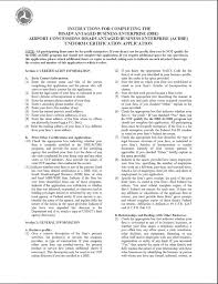 Blanket Certification Letter Federal Register Disadvantaged Business Enterprise Program
