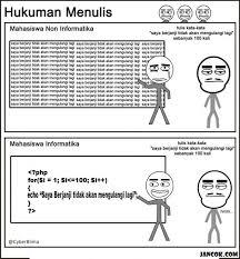 Programer Meme - programmer vs non programmer jancok gambar meme lucu meme komik