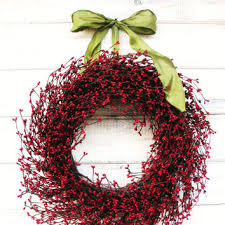 shop berry door wreaths on wanelo