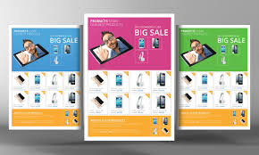 one page brochure template product brochure template free high quality template