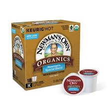 Blend K Cups Newman S Own Organics Special Blend Keurig Single Serve K Cup Pods