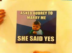 Meme Wedding Proposal - reuse old food memes pinterest reuse memes and meme