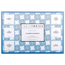 kids placemats tabletopics kids edition paper placemats