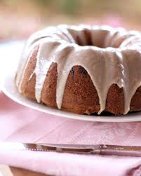 brown sugar and chocolate chip pound cake with maple glaze a