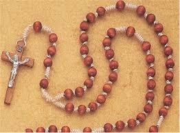 15 decade rosary 48 inch 15 decade franciscan rosary