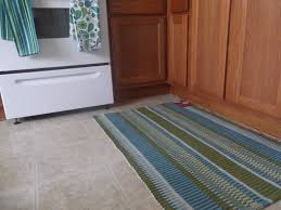 kitchen cabinet mats minimalist ideas using green stripes furry thread kitchen rubber