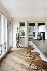 spanish style kitchen flooring black metal stools integrated