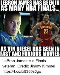 Lebron Finals Meme - lebron james has been in as many nba finals cleveland oonbamemes as