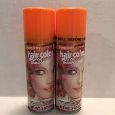 details 2 orange temporary hair color hairspray wash