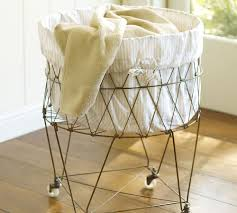 Laundry Hamper With Wheels by Furniture Alluring Wire Hamper For Home Furniture Ideas