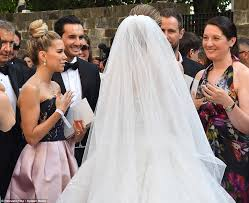 victoria swarovski marries in italy daily mail online