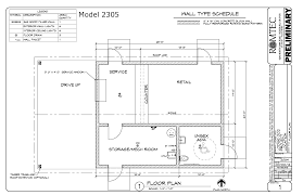 lodges romtec inc floor plan of large lodge with service area and retail
