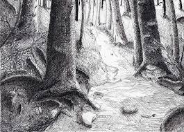 artstation forest concept scenes aaron cw
