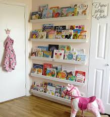 Bookcase Ideas For Kids Use The Empty Space Behind Your Doors For Books Diy Bookcases