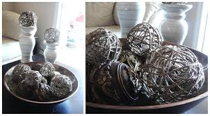 Decorative Spheres For Bowls Tristinandcompany Decorative Jute Balls