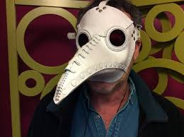 white plague doctor mask tom banwell designs plague doctor mask in white leather schnabel