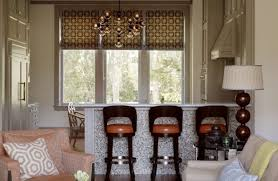 unique bar stools family room contemporary with mosaic tile
