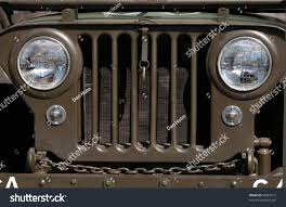 stock jeep headlights military jeep grill stock photo 58987513 shutterstock