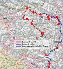Himalayan Mountains Map Himalayan Motorcycle Tours Indian Himalaya Bike Tour Zanskar