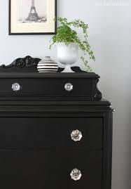 Bedroom Dresser Hardware Vintage Dresser In Lamp Black I U0027ve Done This With A Dresser And