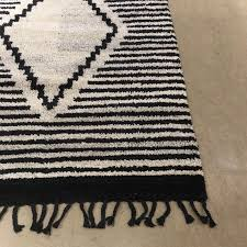 West Elm Rug by New West Elm Commune Diamond Rug 5 X 8 U0027 Pottery Barn In Iron Off