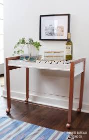 Diy Metal Desk by Diy Faux Copper Table