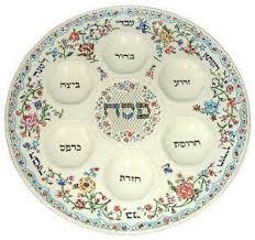 messianic seder plate seder plate ebay