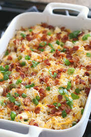 Quick And Easy Main Dish Dinner Ideas Southern Living Loaded Potato U0026 Ranch Chicken Casserole The Country Cook