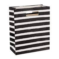 black and white striped gift bags gift bags gift totes gift bag ideas the container store