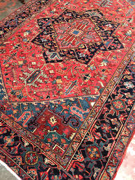 Antique Heriz Rug Antique Persian Heriz Rug 7x10 C 1920s