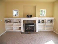 Built In Bookshelves Around Fireplace by Built In Bookcases Around Fireplace Fireplace Facelift Built In