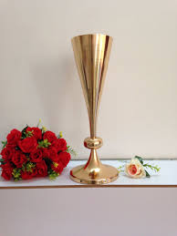 online get cheap wedding centerpiece vases gold aliexpress com