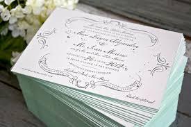vintage style wedding invitations zayra ivan s vintage inspired gray celadon wedding invitations