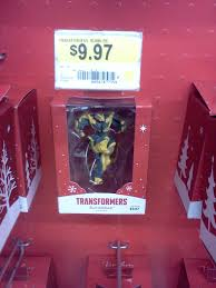 new bumblebee ornament found at wal mart transformers news tfw2005