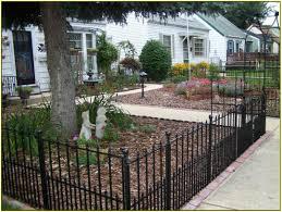 front yard fence black peiranos fences wonderful front yard
