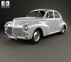 vintage peugeot car peugeot 203 1948 3d model hum3d